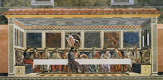 La Última Cena (Andrea de Castagno, Florencia)