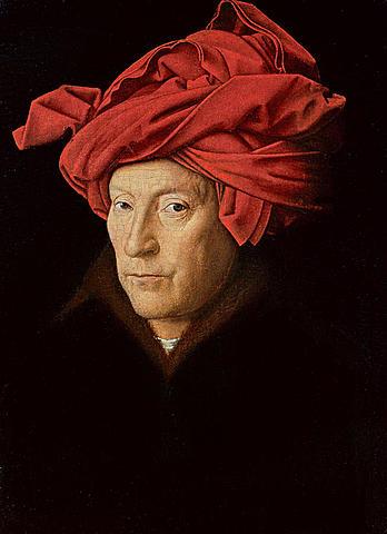 Retrato de un Hombre con Turbante (Jan Van Eyck, Londres)