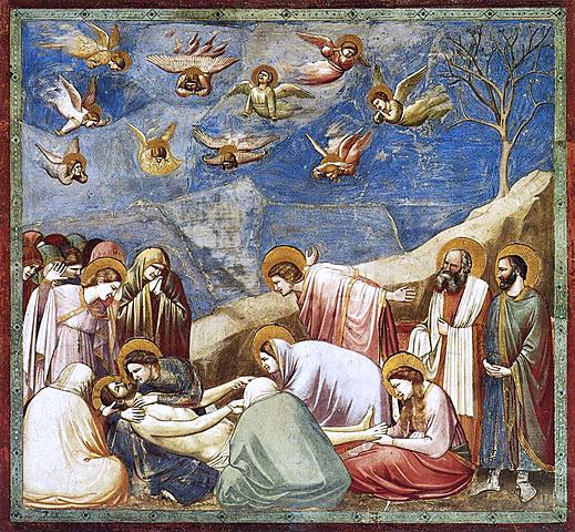 Lamentación sobre Cristo Muerto (Giotto, Padua)