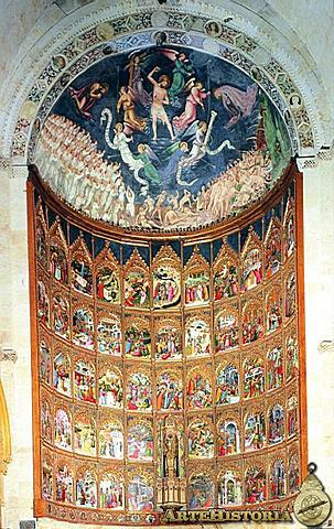 Retablo de la Catedral Vieja de Salamanca (Hermanos Delli, Salamanca)