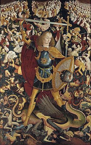 San Miguel (Maestro de Zafra, Madrid)