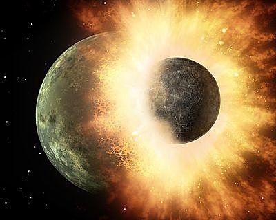 La formación de la Luna