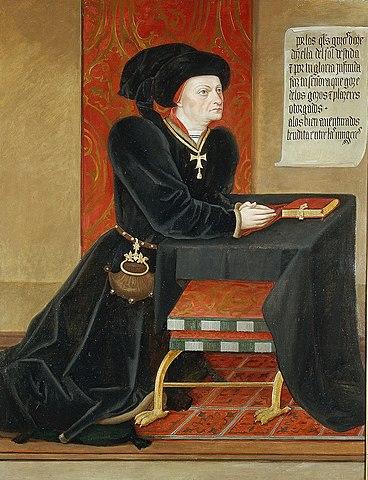 Retrato del Marqués de Santillana (Jorge Inglés, Madrid)