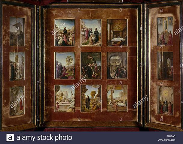 Poliptico de Isabel la Católica (Juan de Flandes)