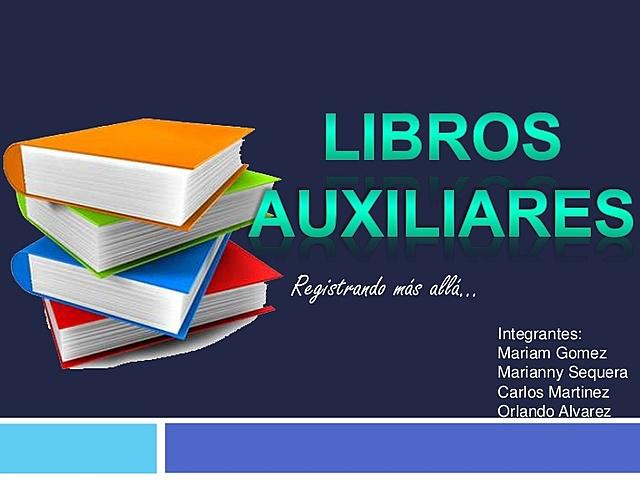 CREACIÓN DE LIBROS AUXILIARES