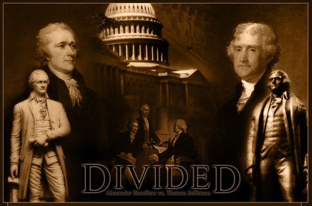 Emergence of a 2 party political system: Federalists v. Anti-Federalists