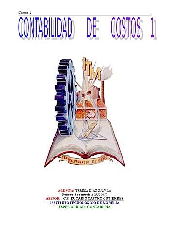 CONTABILIDAD GENERAL Y DE COSTOS