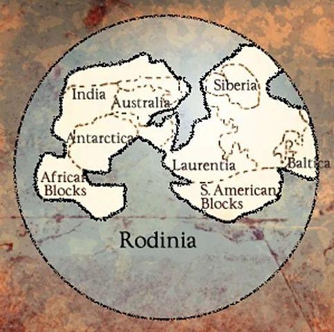 La formación de un continente