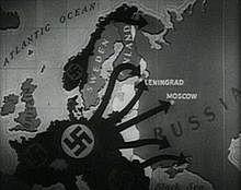 Início da Invasão da Parte Ocidental da URSS, conhecida como Operação Barbarossa