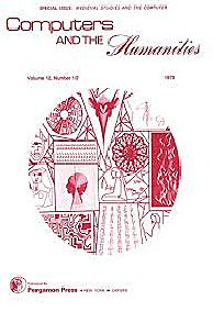 Primera revista en humanidades digitales