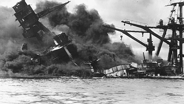 Invasão da Base Naval de Pearl Harbour por parte dos Japoneses