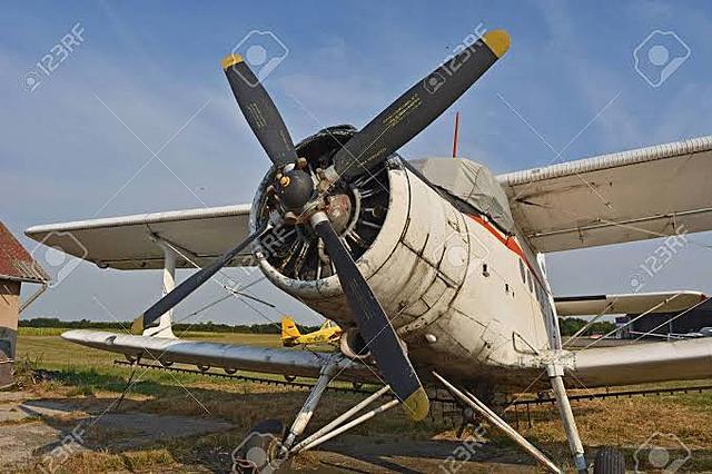 Avión de hélice