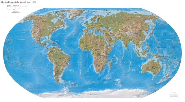 Position of Continents