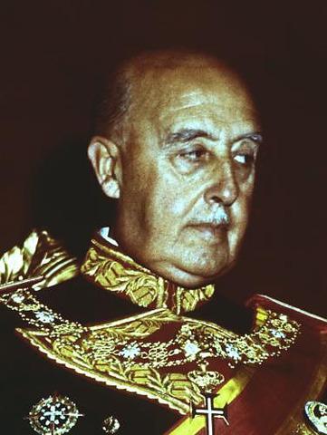 Francisco Franco dies