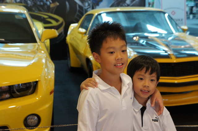 Motor show/famous cars