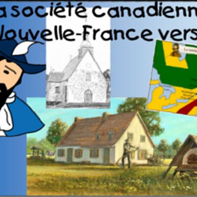 La société canadienne en Nouvelle-France vers 1745 timeline