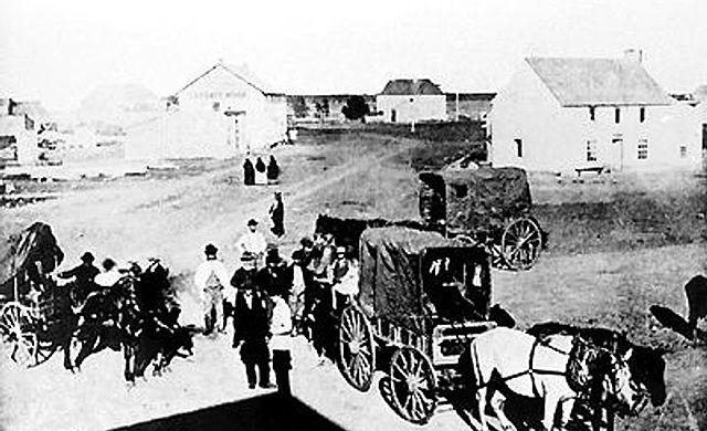 Fondation d'une colonie de Selkirk à la rivière Rouge