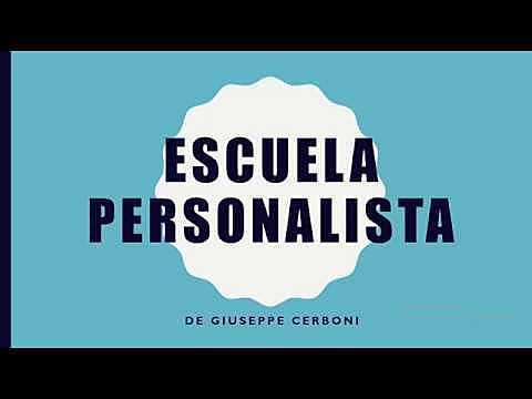 Escuela personalista