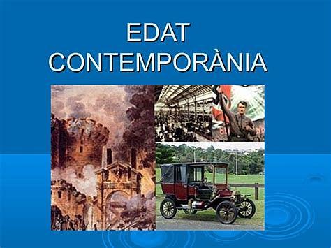 Edat Contemporània