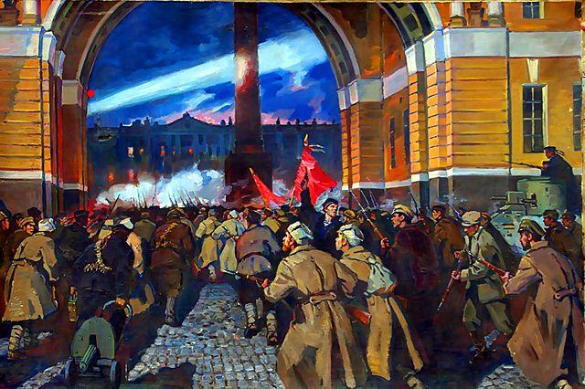Революция и развитие русского языка