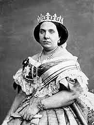 Isabel II abdica a favor del seu fill Alfons