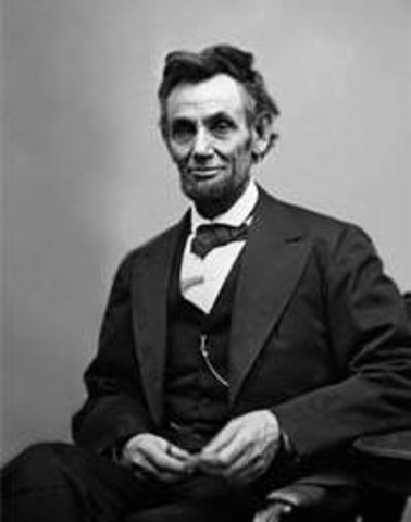 Abraham Lincoln Inauguated