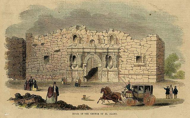 Texas loses the Battle of the Alamo