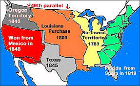 Texas becomes part of the United States