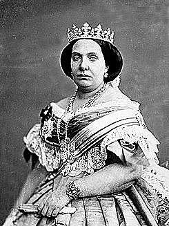 Exili d'Espartero, Isabel II és proclama major d'edat