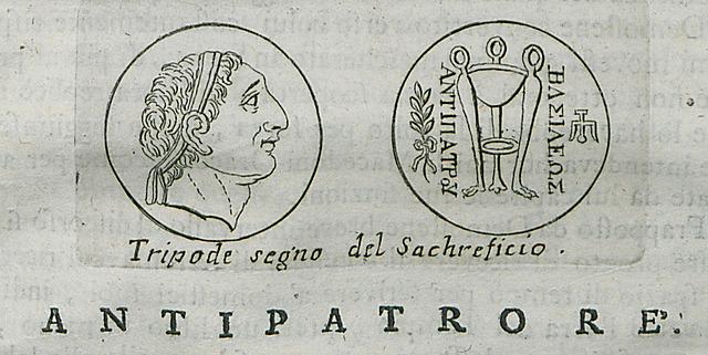 Mort de Antipàter.