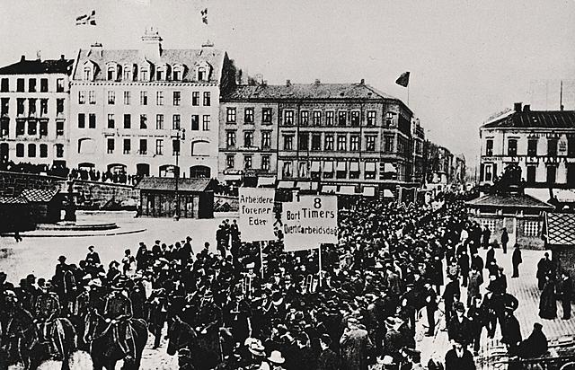 Viktige hendelser i Norge i mellomkrigstiden.