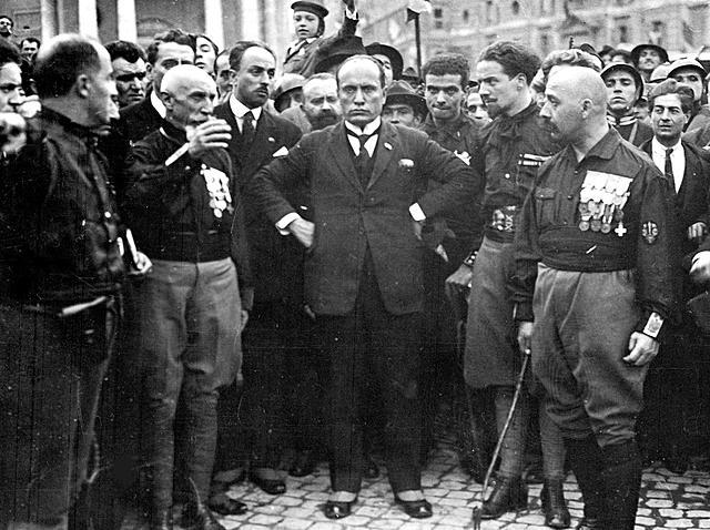 Mussolini og fremveksten av fascisme i Italia