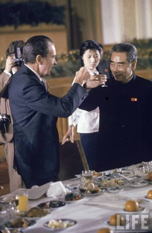 Nixon visits China