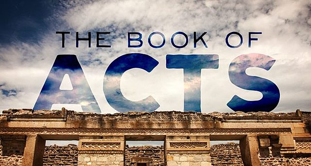 Luke writes the Book of Acts