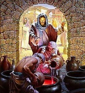 Jesus Turns Water to Wine