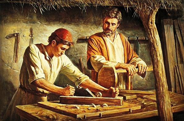 Jesus Works as a Carpenter in Nazareth
