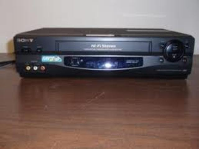 VCRs are introduced