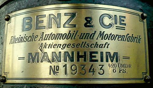 Karl Benz founds Benz & Co. Rheinische Gasmotoren-Fabrik