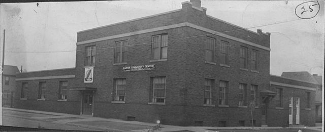 1943 CWAC acqquire present site at North Richard Pryor, and West Third Street