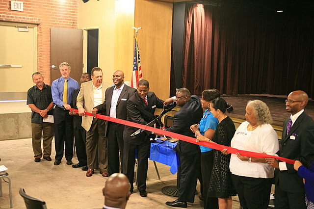 Grand reopening of GWCCC