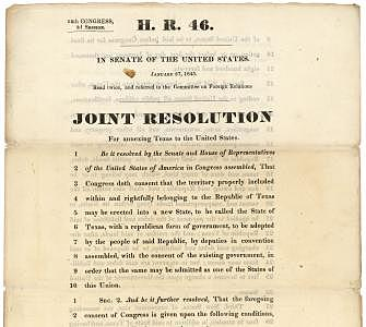 Joint Resolution Passes