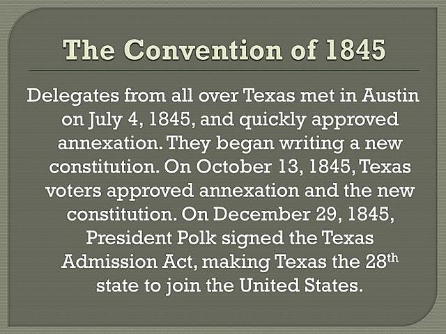 Convention Consideration