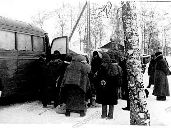 Эвакуация детей ленинградских писателей, поэтов, композиторов