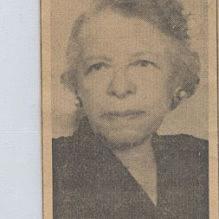 1943 – 1948 Nora Stanford Houston, board member