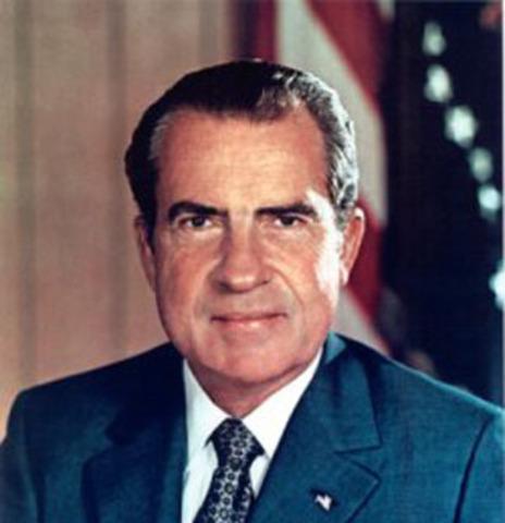 President Nixon is elected