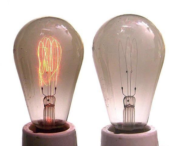 Bombeta elèctrica, Thomas Alva Edison