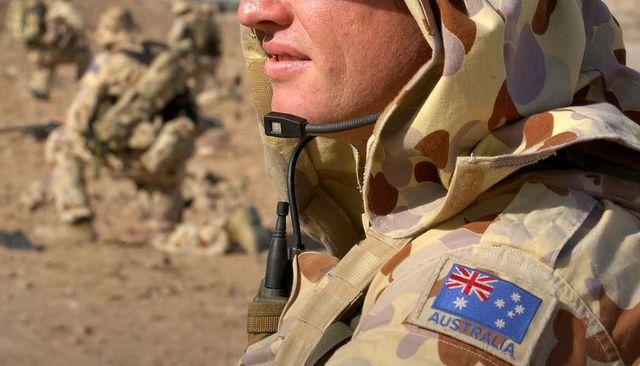 Australian troops withdraw
