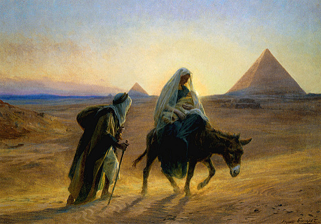 The Fleeing of Egypt