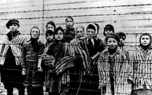 Concentration Camp at Auschwitz,