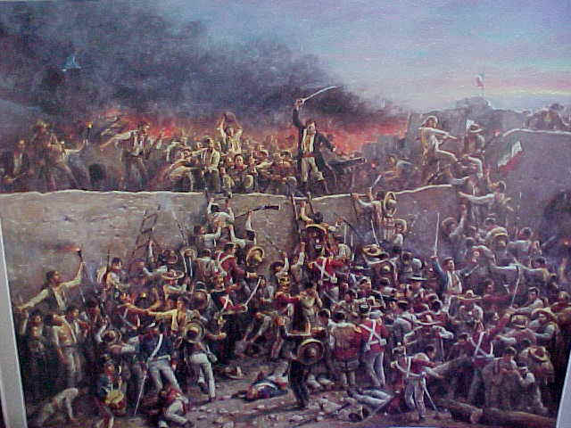 The Texans  and The Alamo